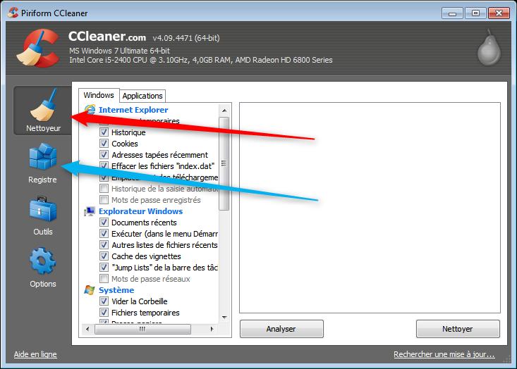CCleaner: un bon coup de nettoyage sur le PC