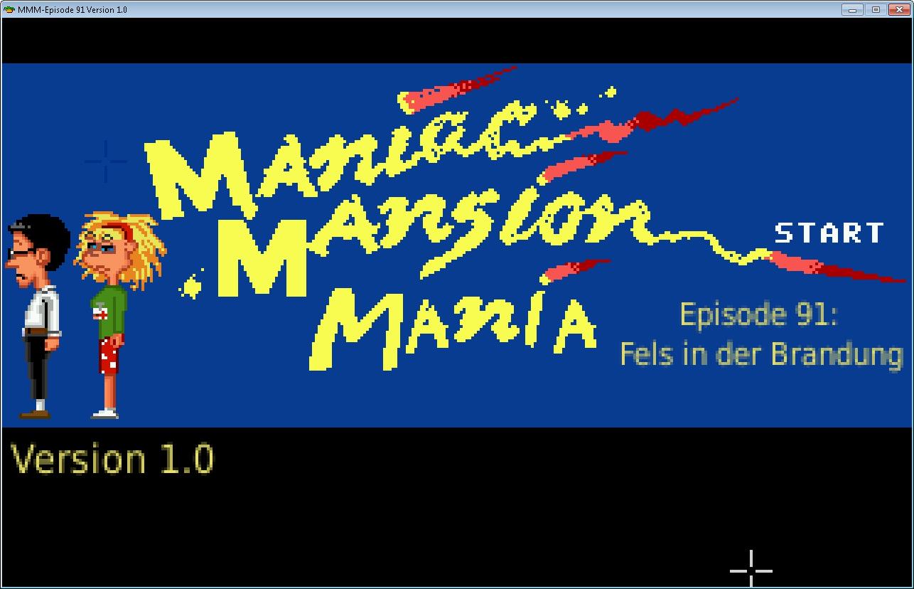 Maniac Mansion Mania: site web des fans du jeu de Lucasarts